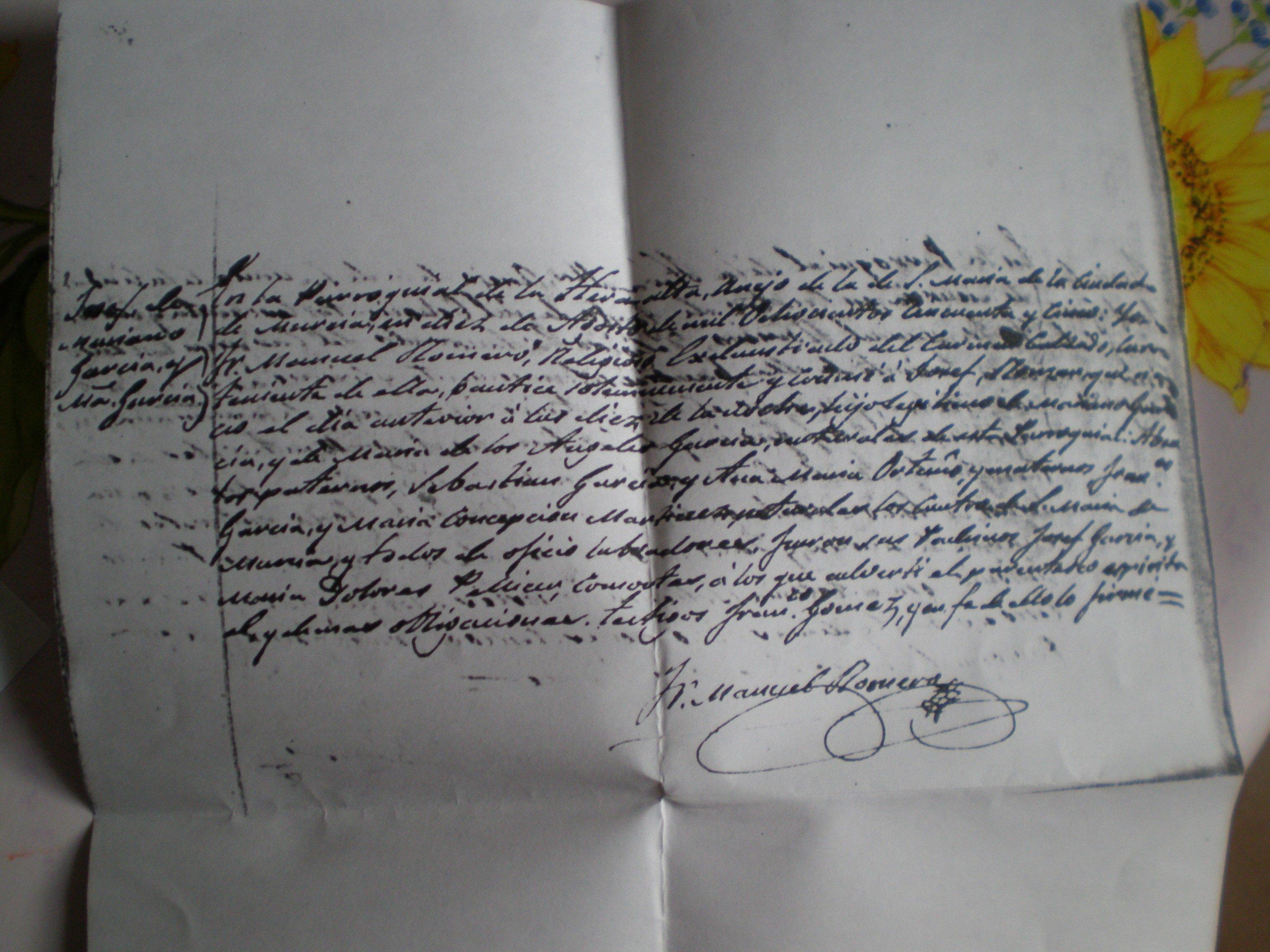Acte de baptême 1855